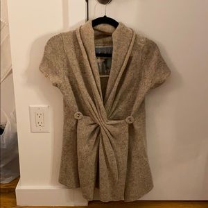 Anthropologie Wool Wrap Sweater